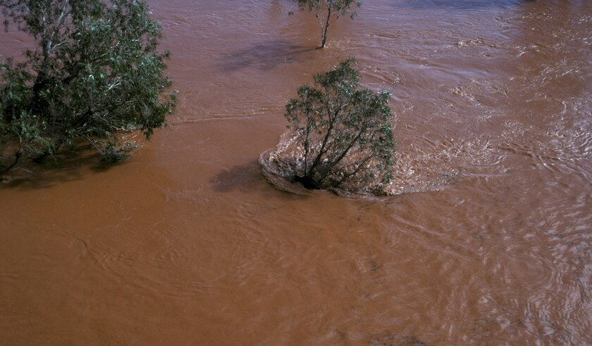Flood waters, Northern New South Wales, Australia