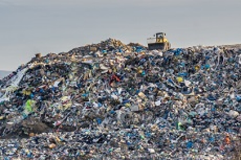 Waste management rubbish heap landfill from Adobe 230x150