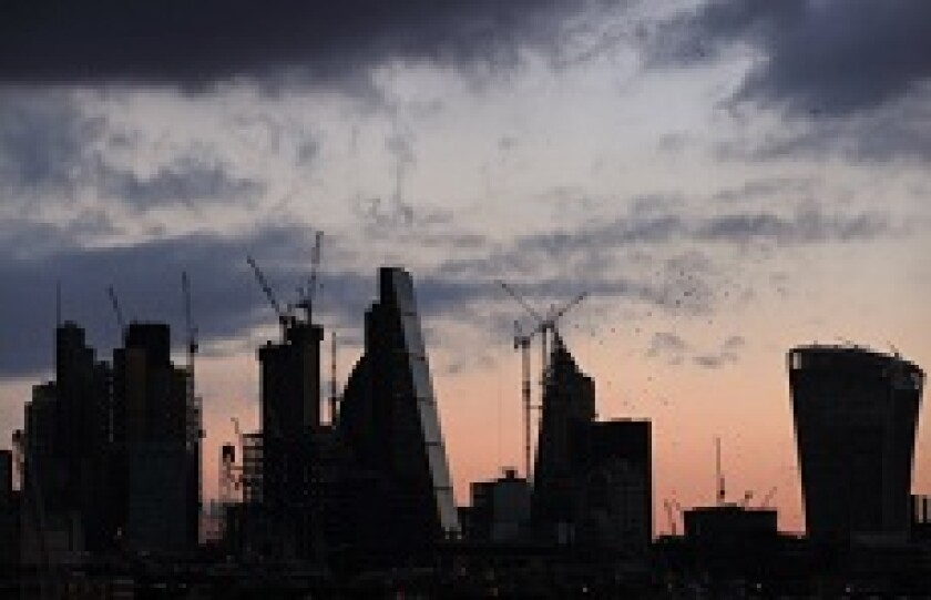 London skyline at sunset from PA 230x150