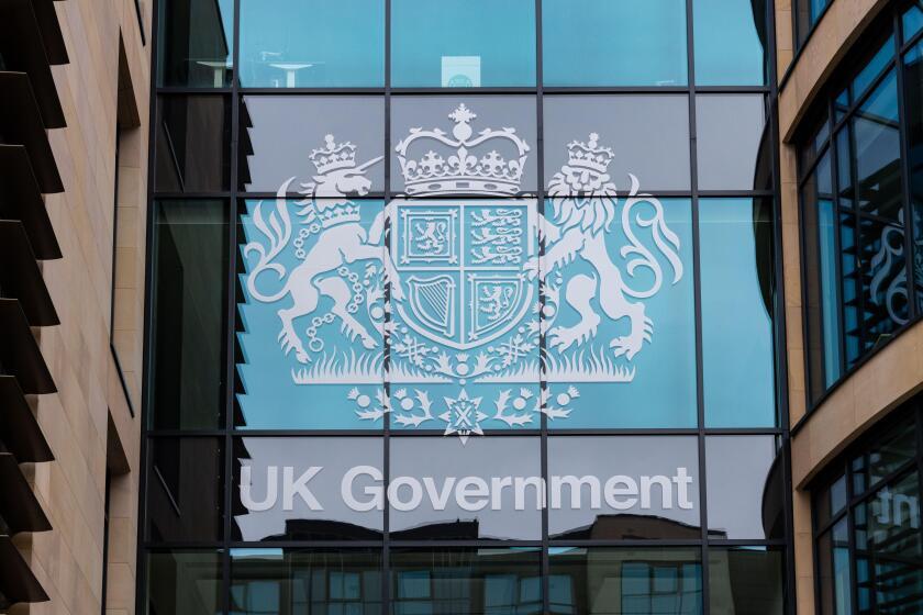 UK Government headquarters International Trade Hub, Queen Elizabeth House, Edinburgh, Scotland, UK